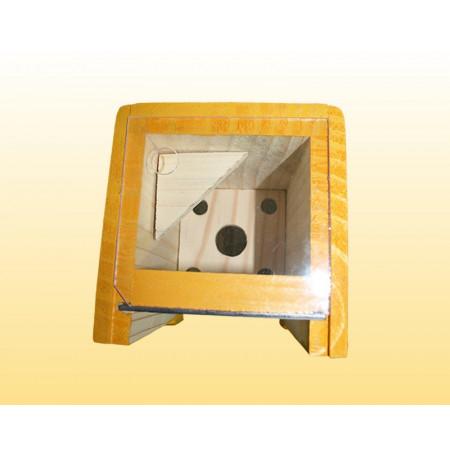 Colmeia modelo CEM vertical c/ visor em acrílico