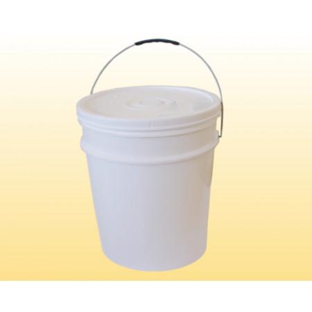 Balde para Mel de Plástico 3,6L - Branco