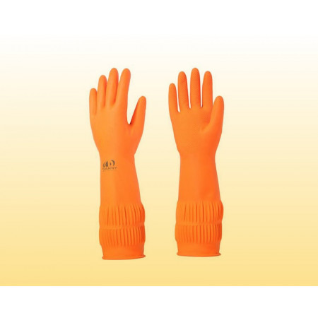 Luva Danny laranja longa