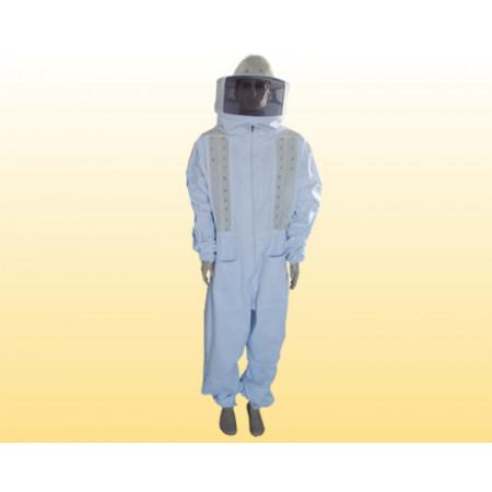 Macacão completo com refrigeração - BRIM BRANCO 100% algodão