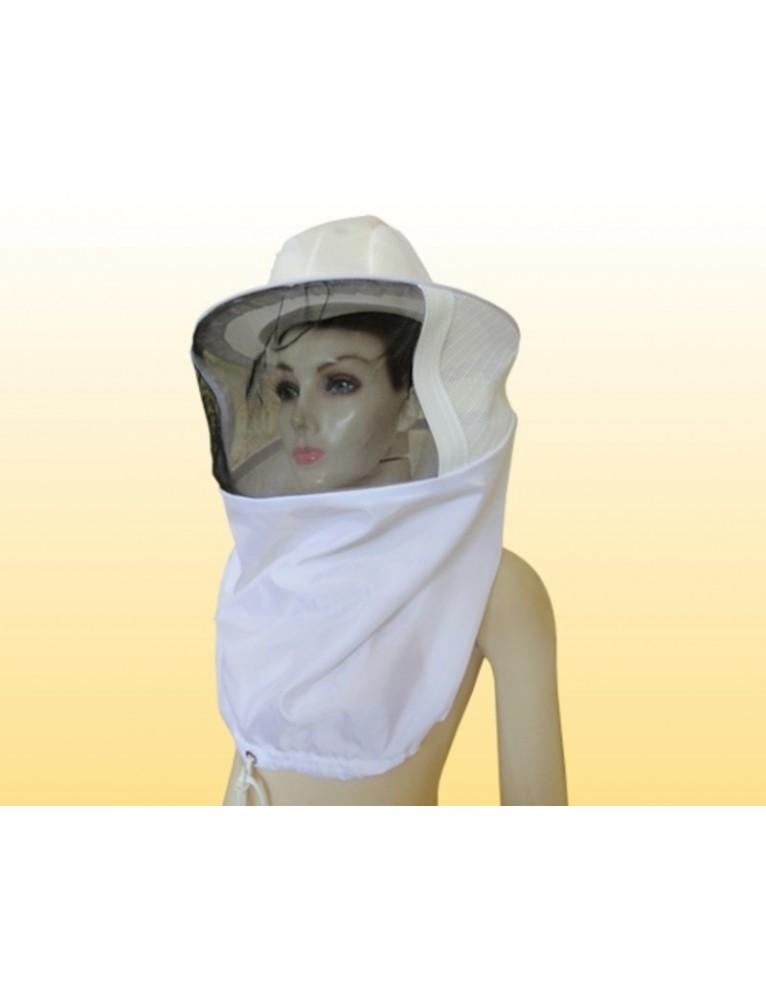 Máscara com chapéu modulado- Tecido 100% poliamida