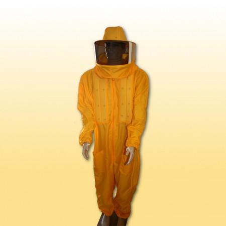 Macacão em Nylon resinado com refrigeração Cor: Amarelo