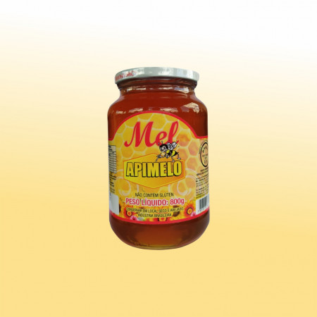 MEL 800gr (pote de vidro) Florada Silvestre